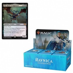 Ravnica allegiance booster box + promo card