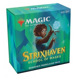 Strixhaven Prerelease Pack Quandrix + 2 booster pack