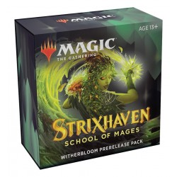 Strixhaven Prerelease Pack Witherbloom + 2 booster pack