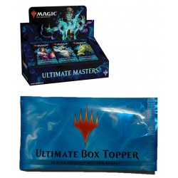 Ultimate Masters booster box with box topper