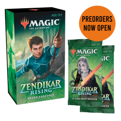 Zendikar Rising Prerelease Pack + 2 booster pack