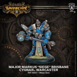 Warmachine Cygnar Warcaster Major Markus Siege Brisbane