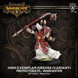Warmachine Protectorate of Menoth Warcaster High Exemplar Kreoss