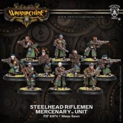 Warmachine Mercenary Steelhead Riflemen - 10