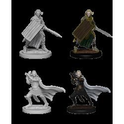 Pathfinder Deep Cuts Unpainted Miniatures: Elf Male Paladin