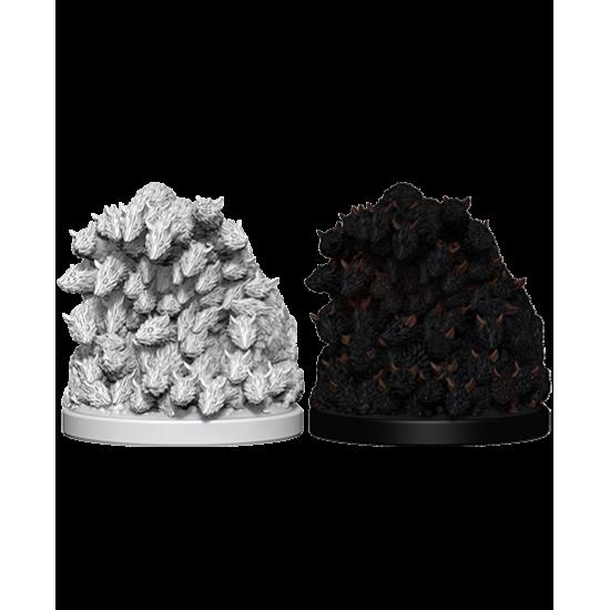 WizKids Deep Cuts Unpainted Miniatures: Swarm of Rats