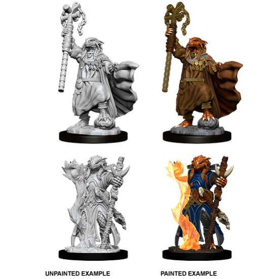 D&D Nolzur's Marvelous Miniatures: Dragonborn Sorcerer
