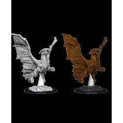 D&D Nolzur's Marvelous Miniatures: Young Copper Dragon