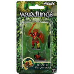 DD5:WARDLINGS:FIRE ORC & CENTIPEDE