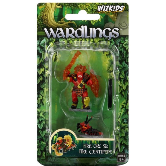 DD5:WARDLINGS:FIRE ORC & CENTIPEDE