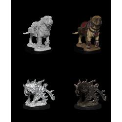 D&D Nolzur's Marvelous Miniatures: Mastiff & Shadow Mastiff
