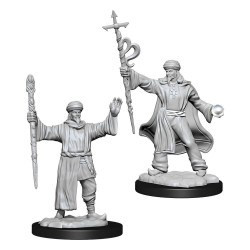 D&D Nolzur's Marvelous Miniatures Unpainted Miniatures Human Wizard Male
