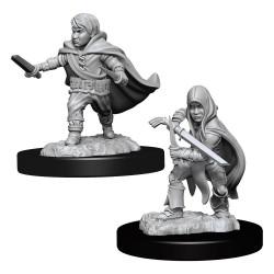 D&D Nolzur's Marvelous Miniatures Unpainted Miniatures Halfling Rogue Male