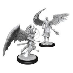 D&D Nolzur's Marvelous Miniatures Unpainted Miniatures Deva & Erinyes