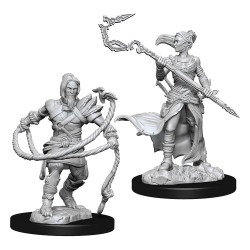 Magic the Gathering Deep Cuts Unpainted Miniatures Stoneforge Mystic & Kor Hookmaster