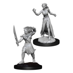 Magic the Gathering Deep Cuts Unpainted Miniatures Vampire Lacerator & Vampire Hexmage