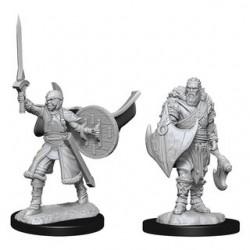 Magic the Gathering Unpainted Miniatures - Human Berserkers