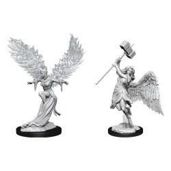 Pathfinder Battles Deep Cuts Unpainted Miniatures Balisse & Astral Deva